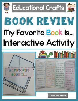 Book Review Craft - My Favorite Book Is... - Educational C
