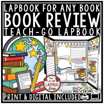 Book Review Lapbook & Book Report Activity