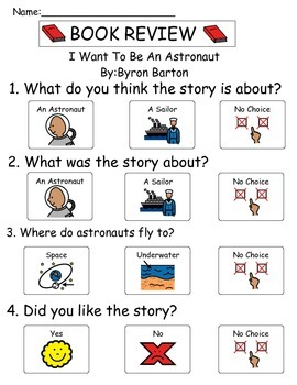 Book Review - I Want To Be An Astronaut