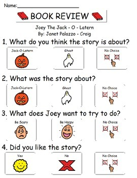 Book Review - Joey The Jack-O-Latern