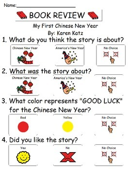 Book Review - My First Chinese New Year