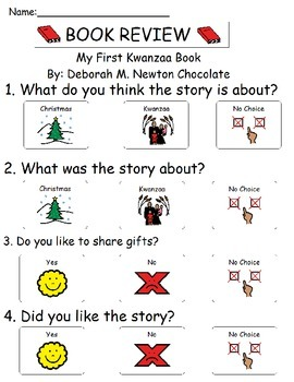 Book Review - My First Kwanzaa Book
