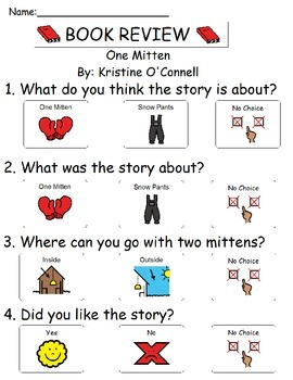 Book Review - One Mitten