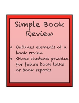 Book Review Outline