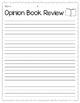 Book Review Outline Freebie