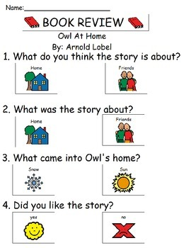 Book Review - Owl at Home