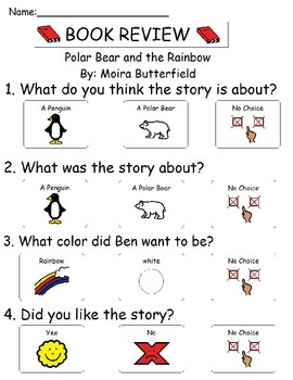 Book Review - Polar Bear and the Rainbow
