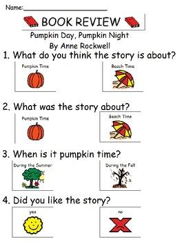 Book Review - Pumpkin Day, Pumpkin Night