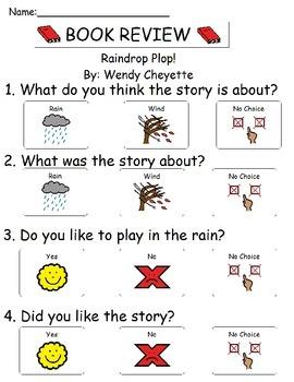 Book Review - Raindrop Plop!