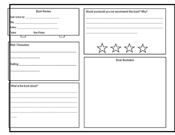 Book Review Sheet