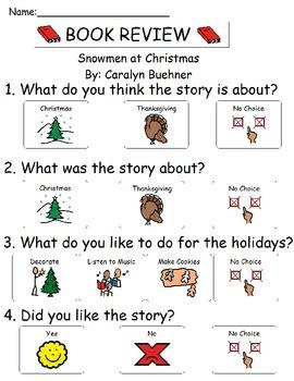 Book Review - Snowmen at Christmas