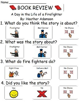 Book Review - A Day in the Life of a Firefighter