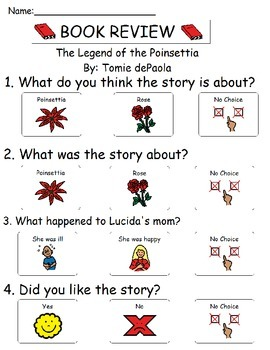 Book Review - The Legend of the Poinsettia