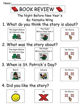 Book Review - The Night Before New Years
