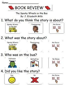 Book Review - The Spooky Wheels on the Bus By: J. Elizabeth Mills