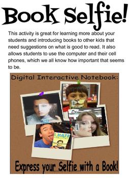 Book Selfie using Google Classroom