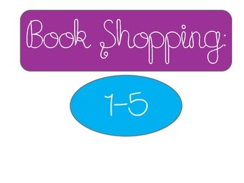 Book Shopping Labels for Classroom Management