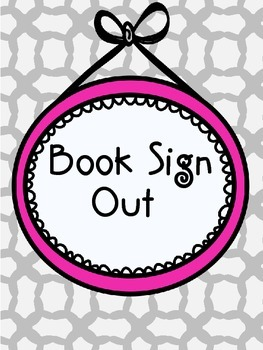 Book Sign Out for Classroom Library