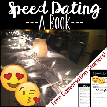Book Speed Dating: A fun free-choice reading activity and book project by B's Book Love
