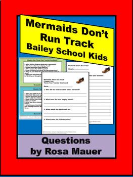 Bailey School Kids Mermaids Don't Run Track