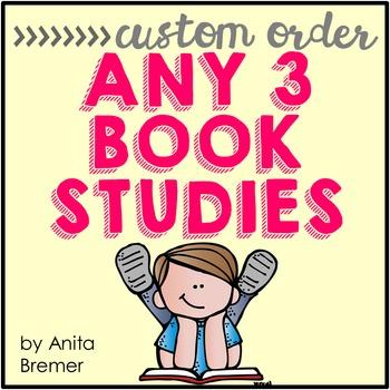 Book Study Custom Order {Choose 3}