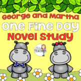 Book Study: George and Martha One Fine Day by James Marshall