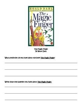 Book Study: The Magic Finger