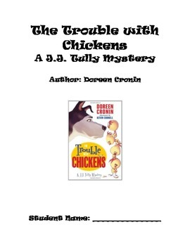 Book Study: The Trouble with Chickens by Doreen Cronin