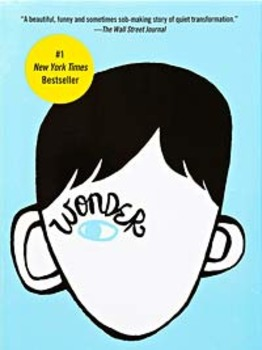 Book Study: WONDER by R.J. Palacio