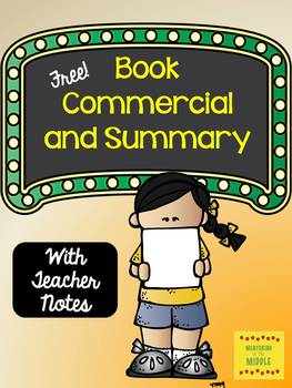 Book Summary and Commercial {FREE}