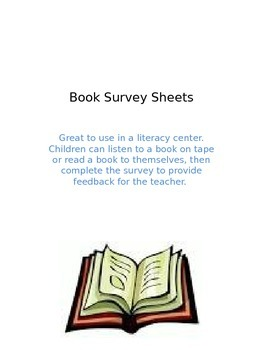 Book Survey Sheets