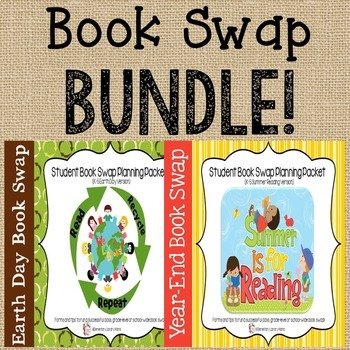 """Book Swap K-5 Bundle:  Includes """"Earth Day"""" and """"Summer Re"""