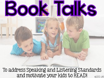 Book Talks: A Fun Way to Address Speaking and Listening St