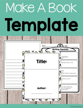 Book Template Printables