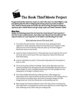 Book Thief Performance Task...Making a Movie!