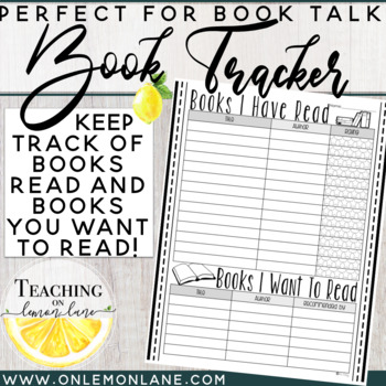 Book Tracker (Books I Have Read, Books I want to Read) Rat