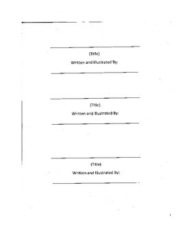 Book Writing Project Template: Story Structure