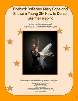 """Book activities for """"Firebird: Ballerina Misty Copeland Sh"""