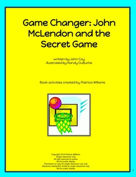 """Book activities for """"Game Changer; John McLendon and the S"""
