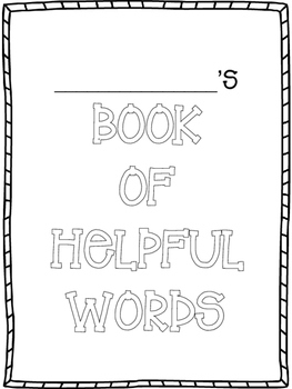 Book of Helpful Words