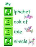 Book or bulletin board: My Bible Animal Alphabet Book