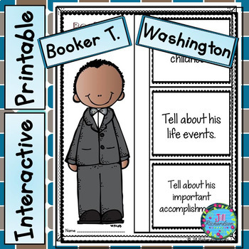 Booker T. Washington Writing
