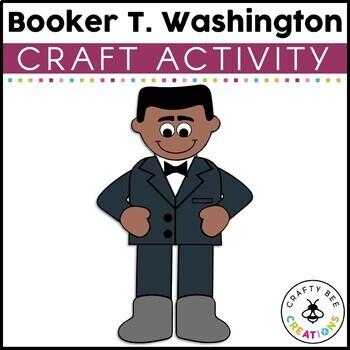 Booker T. Washington Cut and Paste