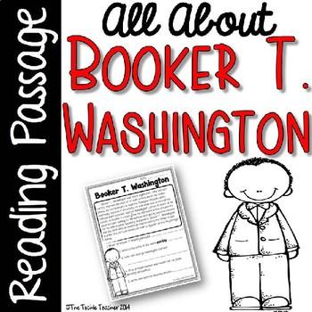 Booker T. Washington Reading Passage