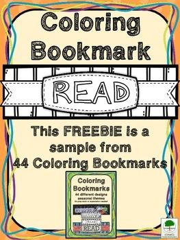 Bookmark FREEBIE - Color and Customize