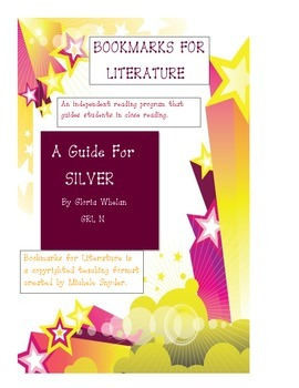 "Bookmark for ""Silver"" by Gloria Whelen"