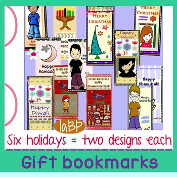 Bookmarks: Christmas, Chanukah, Kwanzaa and more