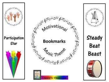 Bookmarks: Motivational: Music Theme 1
