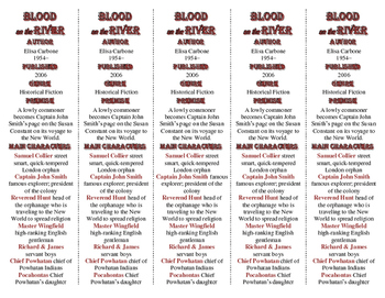 Blood on the River edition of Bookmarks Plus—A Handy Littl