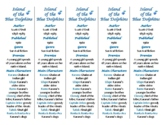 Island of the Blue Dolphins edition of Bookmarks Plus—Hand